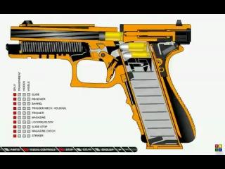 Онлайн видео Как работает пистолет.flv.  Вы можете посмотреть этот фильм чтобы убедиться в его высоком качестве.