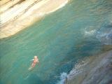 Прыжок в Канал Любви - 5 метров - остров Корфу, Сидари